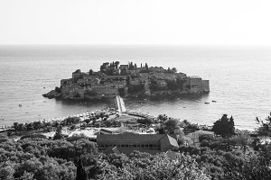 Sveti Stefani Island