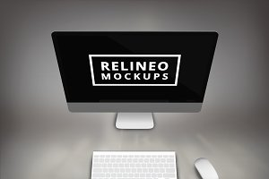 iMac Display Mock-up#1