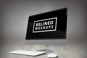 iMac Display Mock-up#2