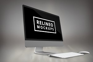iMac Display Mock-up#3