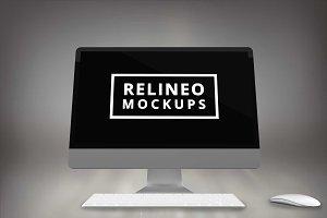 iMac Display Mock-up#4