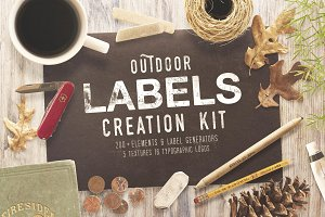 OUTDOOR LABELS CREATION KIT