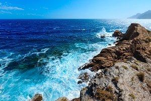 Costa Blanca rocky coast, Spain