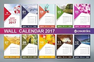 Wall Calendar 2017 - v009