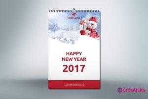 Wall Calendar 2017 - v016