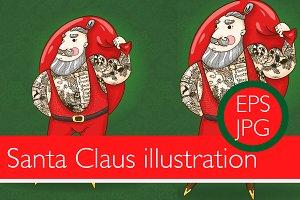 1 Santa Claus illustration