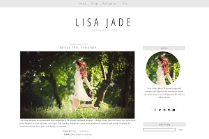 Blogger Template -Simple Grey - Jade