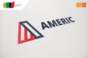 Americ - Logo Template