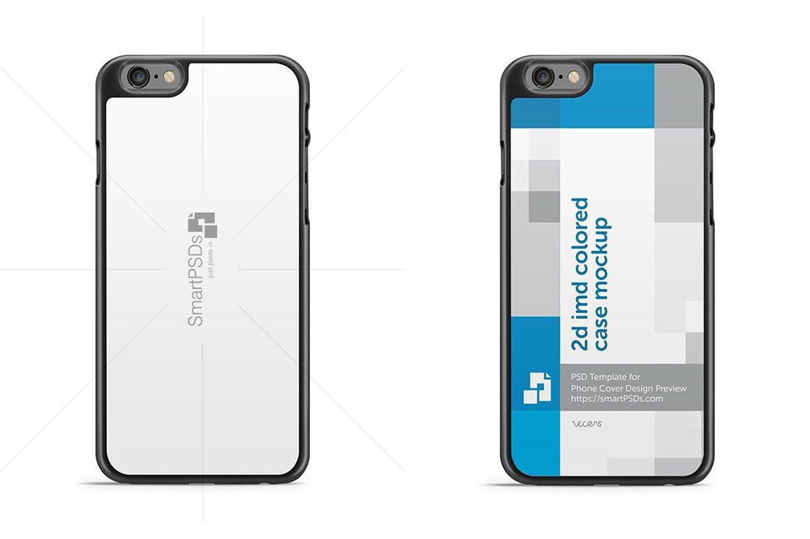 iphone 6s 2d imd phone case mockup product mockups creative market