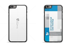iPhone 6S 2d IMD Phone Case Mockup