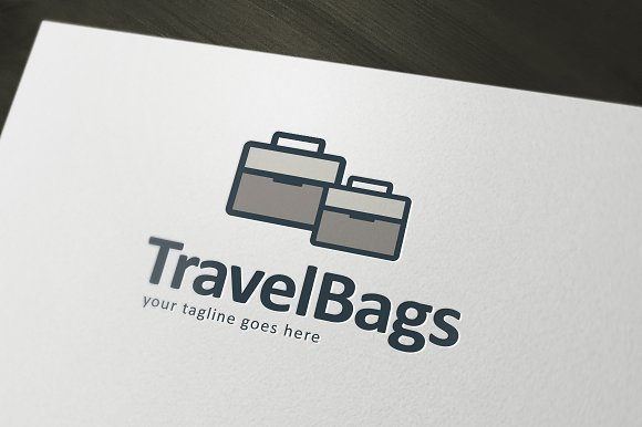 Travel Bags Logo Template