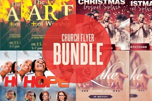 Church Flyer Template Bundle