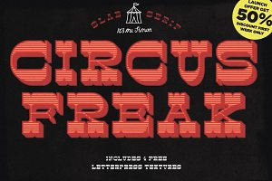 Circus Freak font