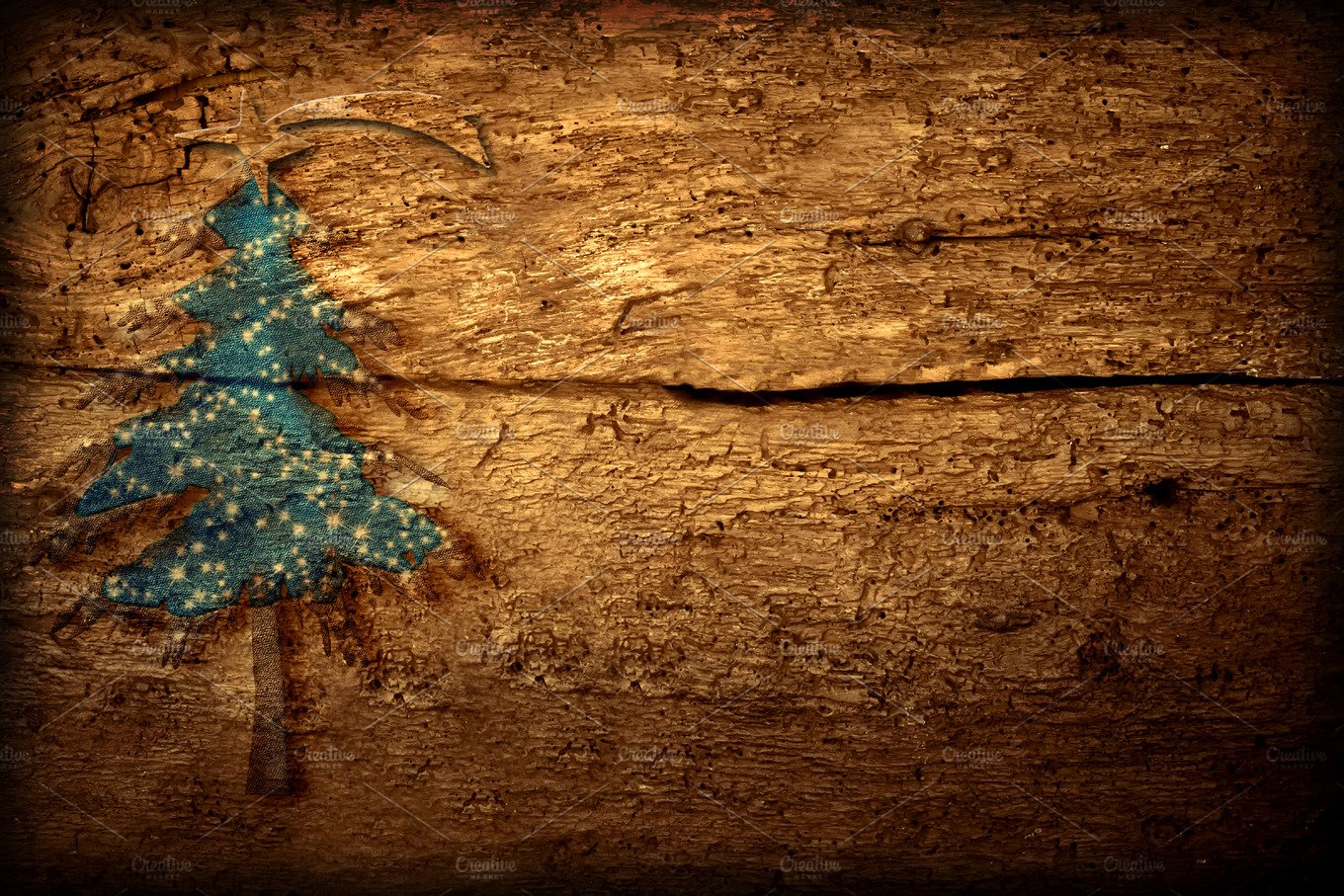 rustic christmas background holiday photos creative market - Rustic Christmas Background