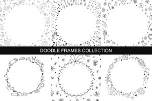 Hand drawn frames collection