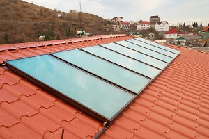 Solar water heating cells