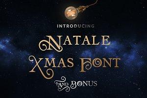 Natale Christmas Font & Bonus Gift