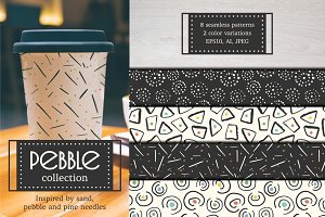 Pebble pattern collection