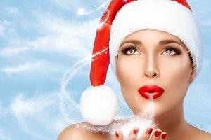 Magical Christmas Woman