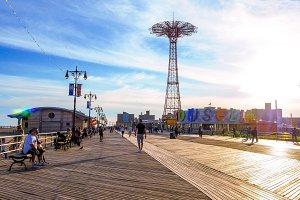Coney island, Riegelmann Boardwalk 2