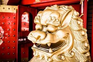 Dragon at China Town, USA