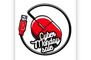 cyber monday emblem