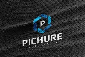 Pichure Logo Template