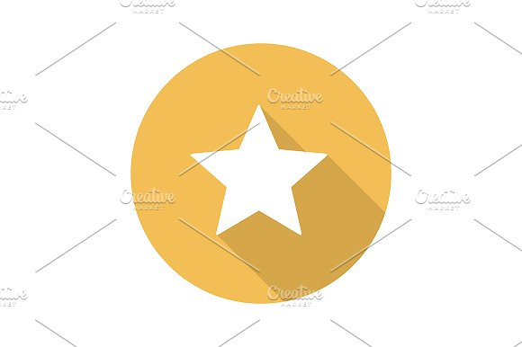 Star mark icon. Vector - Icons