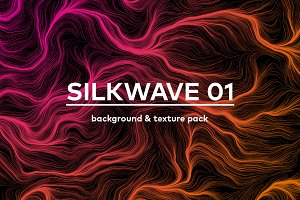 Silkwave 1. Texure/background pack
