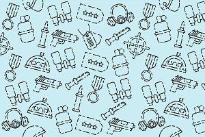 Military set pattern