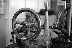 Wheel of lathe