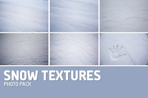 Snow Texture Photo Pack