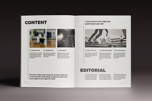 Mazing Magazine Template
