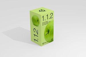 1.1.2 Simple 3D Box Mockup