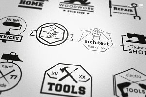 Workshop Useful Badges Logos
