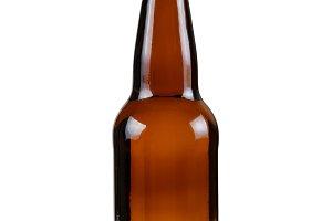 Clean unopened bottle of beer