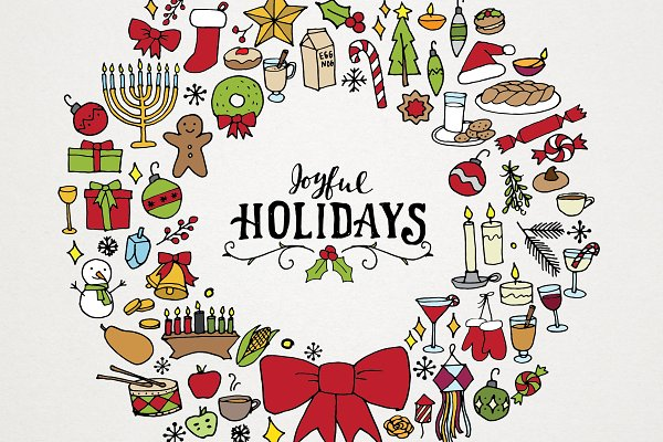 Holiday & Christmas Art Pack
