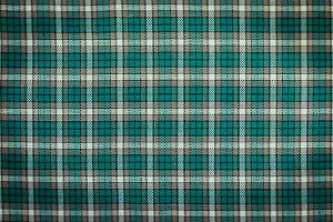 Vintage Green and white checkered tablecloth