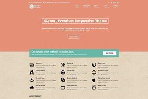 Glatex - Responsive Premium Theme