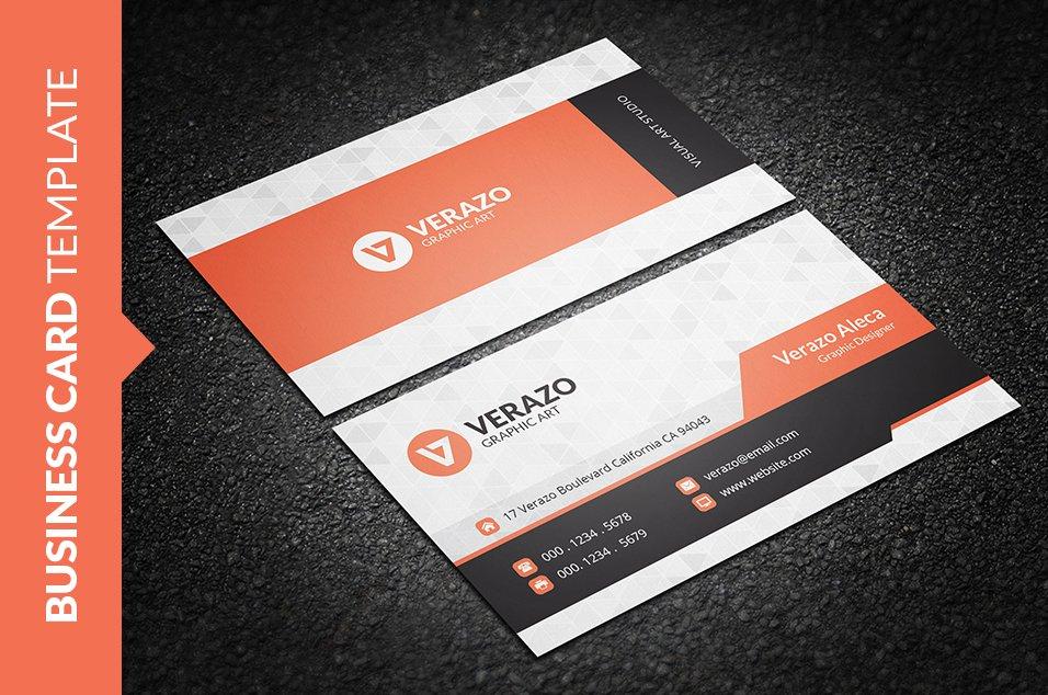 Modern Stylish Business Card ~ Business Card Templates ~ Creative ...