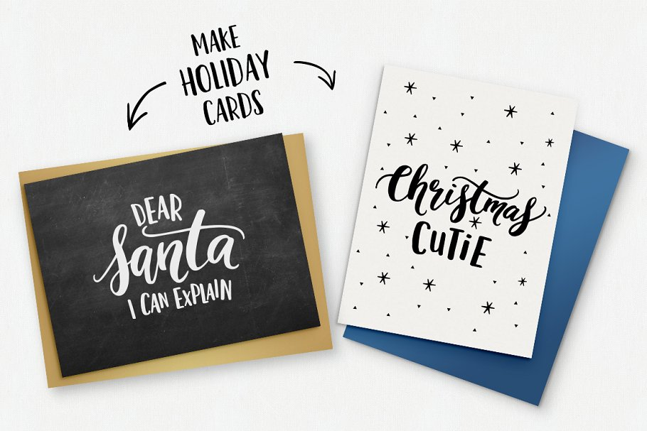 12 Fun Christmas Quotes Svg Vector Custom Designed Graphic Objects Creative Market
