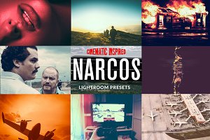 NARCOS - Cinematic Lightroom Presets