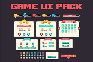 Complete game ui pack
