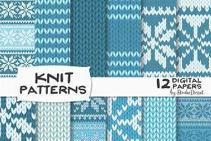 Christmas Knit Patterns