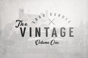 The Vintage Logo Bundle Vol.1