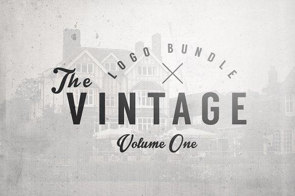 The Vintage Logo Bundle Vol.1