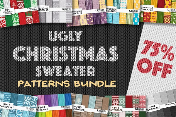 75% OFF Ugly Christmas Sweater