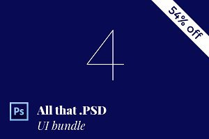 All that .PSD 54% off