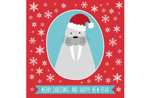 Cute winter card