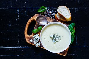 Tasty cream soup